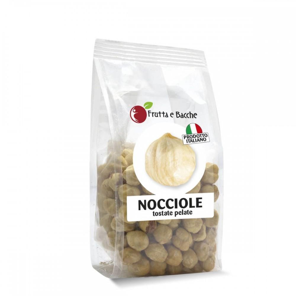 Nocciole Tostate e Pelate Italiane