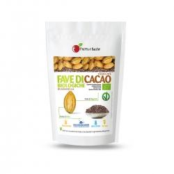 Fave di Cacao Biologiche Essiccate in Granella