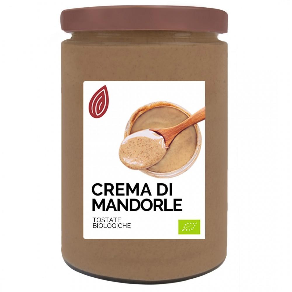 Crema di Mandorle Sgusciate Tostate Bio